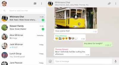 WhatsApp PC version