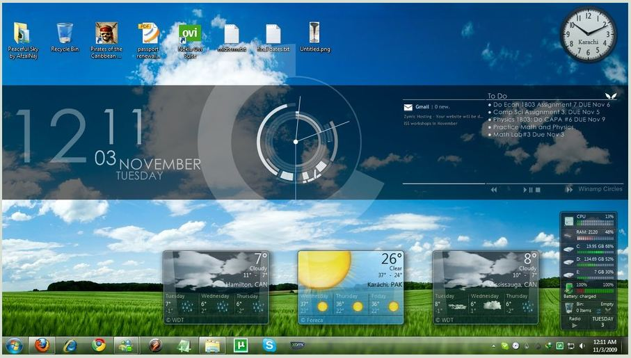 Download Rainmeter | Free System tools | 100-downloads com